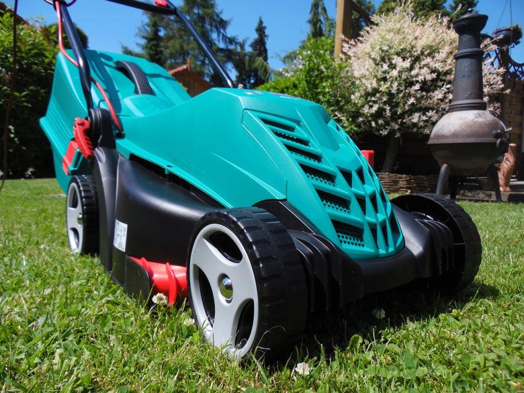 lawn mower, leisure, hobby